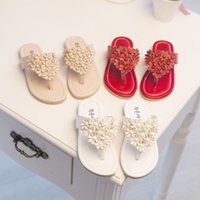 Wholesale Fashion children shoes girls shoes new arrival girls sandals non slip flower princess snadals kids summer slippers
