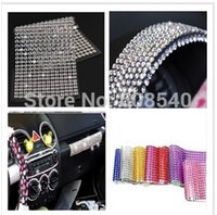Wholesale 504Pcs mm Bling Personalized Crystals Rhinestones Self Adhesive Stickers For Car Mobile PC Decoration AE01304 order lt no track