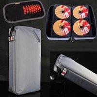Wholesale BUBM Portable CD DVD Blu ray Case Holder Storage Disc Visor Case Color Silver