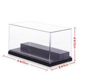 acrylic doll display case - Anime Action Figure Doll Display Cases Model Toy Acrylic Transparent Display Box cm SHD