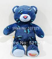 bear design build - cm inch high quality Build A Bear stuffed bear superman design bears doll
