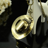 ace charm - Pendant Necklaces Europe AndTthe United States Sell Like Hot Cakes On The New One Piece Fire Boxing Ace With Hat Necklace