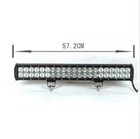 Wholesale 1Pcs W CREE LED Light Bar Jeep Truck Trailer Spot Flood Beam working lamp x4 WD SUV ATV Off Road Car Work Working Lamp Combo Beam