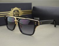 Wholesale Hot New Arrival Mach Three Dita Sunglasses Square Style Fashion Eyewear Oculos De Sol Masculino Famosa Sun Glasses With Box