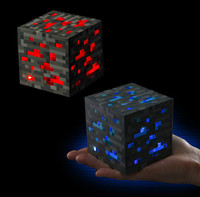 box light - hot sale minecraft light cube minecraft toys box Redstone Ore Night Light Minecraft led light D1619