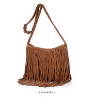 ladies bags uk - cheap handbags uk fashion Fringed Tassel Female Shoulder Bag Women s Messenger Handbags Lady Cross Tote Bags Femme bag Z M0605