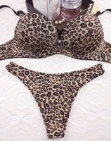 bra and panty - women bra set D D sexy bra and panty brief set underwear leopard bras sets women brassiere push up lingerie