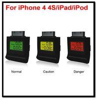 Cheap Wholesale-Free Shipping 10pcs lot Wholesale Ipega Backlight Digital Breath Alcohol Tester Analyser For iPhone 4 4S iPad 2 3  iPod