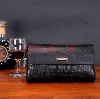 50PCS LJJH1008 New Fashion uomini portafogli in pelle carta di credito Tote Busta sacchetti di frizione per le donne borsa del portafoglio
