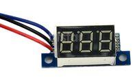 dc voltage panel meter - DC V New Red LED Panel Meter DC Digital Voltmeter Voltage Meter Red LED Panel TK1215