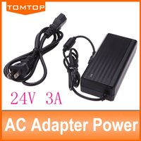 Wholesale car AC DC Power Adapter V A W Power Supply Adapter DC with EU US plug AC Cable Power Cord