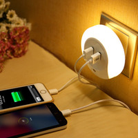 Wholesale Bedside Lamp with A USB Charger Smart Illumination Household Night Light LED Sensor for Intelligent Lamps