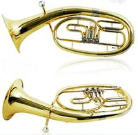 Wholesale ALLNEWYamaha time alto horn large hold flat three houses times alto instrument B the