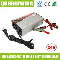 sealed lead acid battery - High quality V A Sealed Lead Acid Rechargeable Battery Charger QW BC24V8A