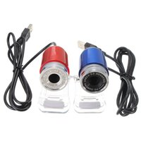 Wholesale Blue Red Degree USB MP HD Webcam Web Cam Camera M Pixels for Computer Laptop PC Tablet New High Quality