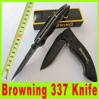 multi knives - Browning Black Blade pocket Folding hunting Camping survival outdoor gear gift Knife knives Multi tool Kit Christmas Gift X