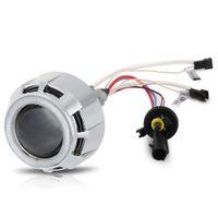 12v ccfl - car accessories led lights v car W quot Car Bi Xenon HID Headlight Double CCFL Angel Eye Projector Lens Kit