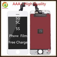 Cheap For Apple iPhone iphone 5c lcd Best LCD Screen Panels For iPhone 5c 5s LCD Screen Display iphone 5s lcd
