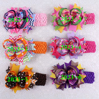 bar boutique - New monster high dot Between the bars cartoon pc baby girl quot hair bows clips Boutique grosgrain ribbon kit headband