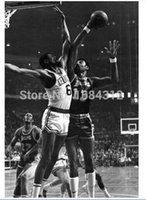 best selling posters - 2015 Best Selling x30 Wilt Chamberlain vs Bill Russell Poster For House