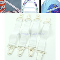 Wholesale x Bed Sheet Mattress Cover Blankets Clip Fasteners Holder Elastic Grippers Set order lt no track