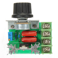 ac motor free - 2000W V Adjustable Voltage Regulator PWM AC Motor Speed Control Controller