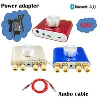 adapters computed - With Power Adapter W Powerful Nobsound Mini Bluetooth Amplifier Hifi Stereo Channel Wireless Audio Player For Phone Compute