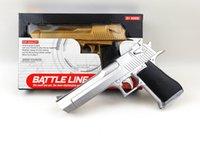 airsoft gun pistol - Desert Eagle Plastic Toys Pistol Laser Infrared Pistola Props Airsoft Weapon Gun Nerf Blaster Guns Arma Pistola De Brinquedo Toy