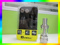 Wholesale 5 sale via DHL uwell crown ml clone ohm sub tank black SS Color vs subtank mini Smok tfv4