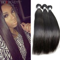 Straight remy weave hair straight - 7A Qualified Softest And Smoothest Peruvian Virgin Remy Human Hair Weaves Straight Extensions No Shed No Tangle
