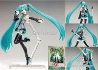 Wholesale J G Chen Volcaloid Hatsune Miku Figma PVC Action Figure Collectible Toy quot CM