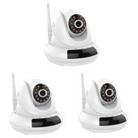 Zoom NUEVO PTZ IP Cloud FI366 HD 720P 1.0MP PT 3X digital inalámbrica Wifi IP del P2P de la cámara 32G TF tarjeta de la cámara de vigilancia para interiores