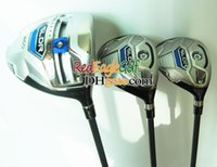 golf club set - New Golf Clubs Golf wood set Golf driver fairways wood golf clubs with Golf Graphite shaft headcover