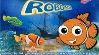 pet fish - Original Robo fish Robofish Electric Toys Emulational Electronic Pet Toys Creative Baby toys Robot Fish with retail package