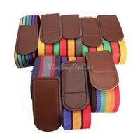 Wholesale 4 m Travel Luggage Suitcase Cross Strap Baggage Backpack Belt Metal Clasp K5BO