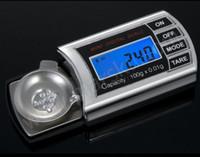 benches kitchen - 100g Mini Digital Pocket Kitchen Scale Stainless Steel Pan Precision Balance Diamond Jewelry Scale