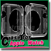 Wholesale 2015 TPU Case For Apple Watch mm tpu Case Crystal Clear TPU Soft Cover For Apple Watch mm mm iwatch free DHL shipping