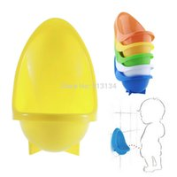Wholesale 1pc Baby Kids Toddler children Bathroom Pee Trainer Children Potty Urinal Toilet Training Kids Urinal Plastic For Boys Pee