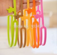 Wholesale Silicone Pointing Finger Bookmarks Mix Colors Fashion Bookmarks Book Diary Bookmark