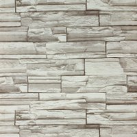 10Meters / lot 3D bloc / pierre / ardoise / brique de papier de mur claasic papier peint vinyle / PVC antiques papiers peints murales pour décoration intérieure