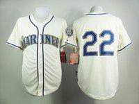 robinson - Seattle Mariners Jerseys Robinson Cano Cream Jersey Cheap Baseball Jerseys Authentic Stitched Cool Base Jersey