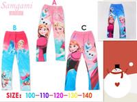 Cheap girls frozen leggings Best girls frozen