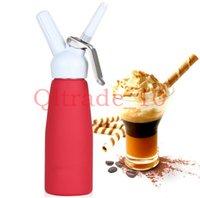 Wholesale 20PCS HHA412 HOT ml Dispenser Whip Dessert Coffee Fresh Cream Butter Dispenser Whipper Foam Maker Metal