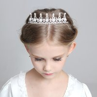 alice hair - 2015 female flower crown princess Alice hair birthday flower crystal flower girl accessories Kids Accessories Girls Head Pieces