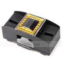 casino shuffler - 2 Deck Poker Cards Shuffler Battery Operated Electric Casino Automatic Machine