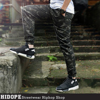 camouflage pants - Hot Camouflage Jogger Pants Elastic Waist Draw String Casual Camo Hip Hop Mens Pants Trousers