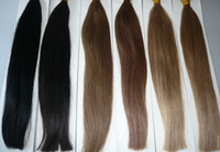 Cheap Brazilian Hair Nano ring Best Mix Color Straight brazilian human hair
