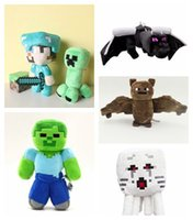 children toys - Core Plush Doll Cartoon Toy Steve inch Dragon Spider Bat Diamond Sword Toys My World Gifts for kids Children Factory price