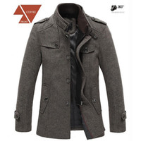 designer clothes for men - New Brand Jackets for Men Coats Casual Jacket Mens Clothing Designer Windproof Wool Winter Jackets Men Overcoat
