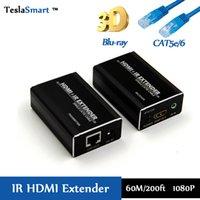 kiosk - 60M ft HDMI Extender IR over IP CATx For School office hospital center public kiosks